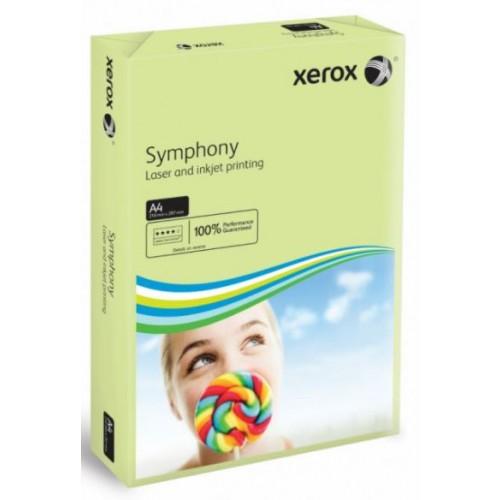 A4  Paper 80gsm.  Xerox Symphony Pastel Tints.   Green.   Ream of 500 sheets.  (5 Reams per box) 003R93965