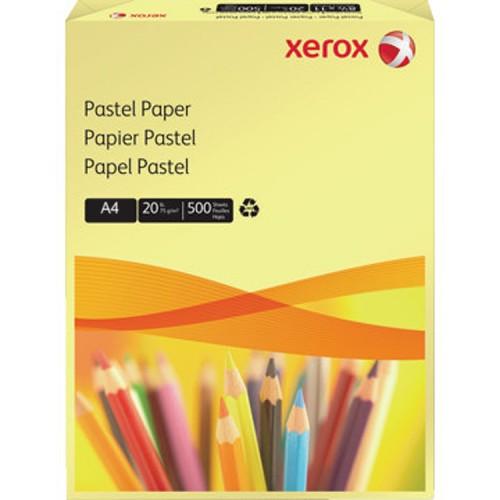 Xerox 80g Pastel Yellow Paper A4  Pk500