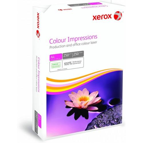 Xerox Optimum A4 Paper Colour Impressions 250gsm Ream (250 Sheets)