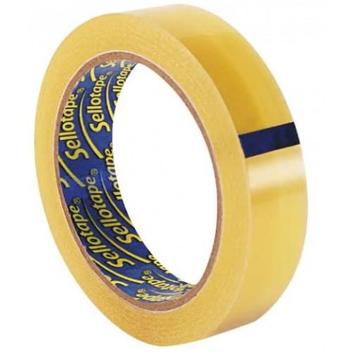 Sellotape Original Golden Tape 24mmx66m (Pack 1 roll)