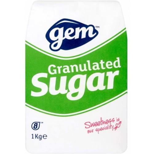 Gem Sugar Granulated  1 KG bag