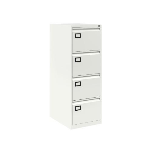 Bisley 4 Drawer AOC Filing Cabinet - Chalk