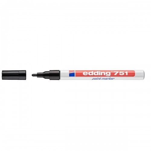 Edding 751 Paint Marker - Black