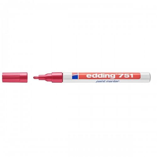 Edding 751 Paint Marker - Red (Pk 10)