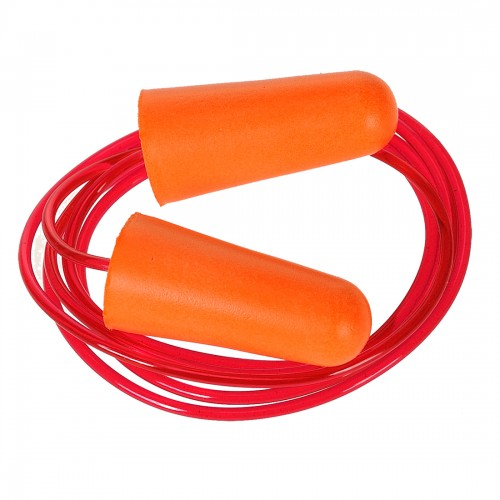 Corded PU Foam Ear Plug (Pack of 200)