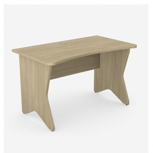Ashford Home Office Desk; 1200 x 700mm - K Legs (Urban Oak)