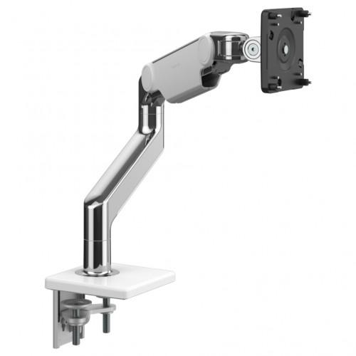 Humanscale M8.1 Monitor Arm - Polished Aluminium