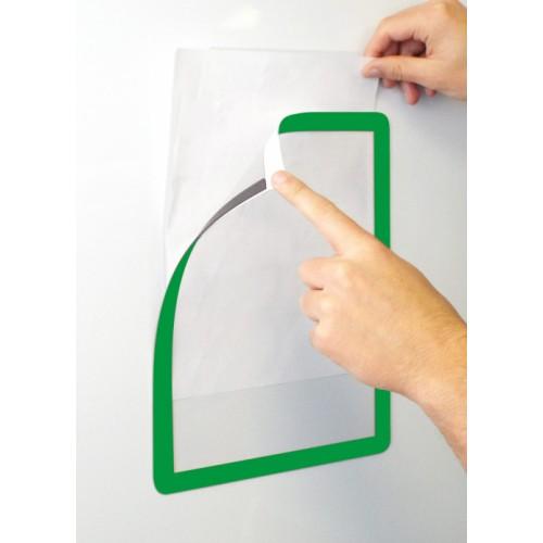 Magnetic A4 Frames4Docs - Green (Pack 10)