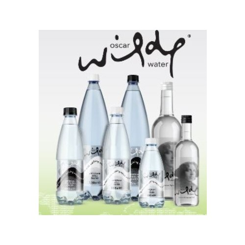 Oscar Wilde Sparkling Water 500ml . Plastic Bottle   Pack of 24