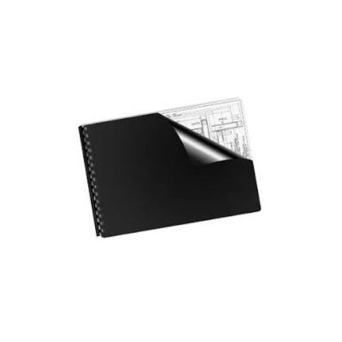 A3 Black Binding Covers 3768  Pack of 100