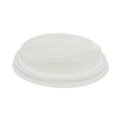 12/16oz White Compostable Lid  -   PKT50
