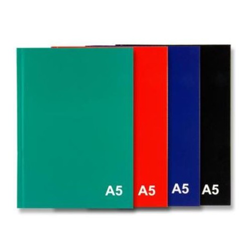 Premier A5  160 page Hardcover Notebook  Bold Colour