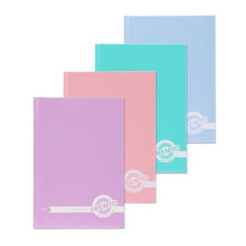 Premto Pastel A6 Hardcover Notebook  160 Pages