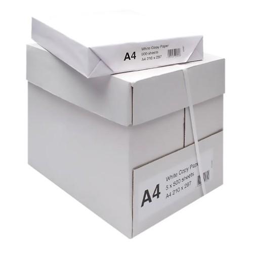 Elwood Platinum A4 White Paper Ream 500.    (5 Reams per Box)