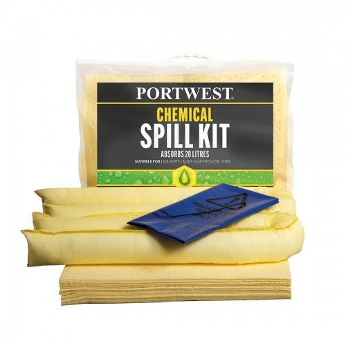 Chemical Spill Kit 20L (Pk 6)