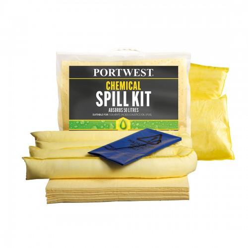 Chemical Spill Kit 50L (Pk 3)