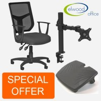 Special offer Ergonomic Home Office Essentials Bundle Deal