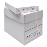 Elwood Platinum A4 White Paper. (pack of 500 sheets).    (5 Packs per Box). Please enter quantity 5 to get 1 box.