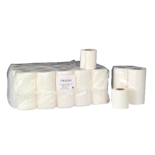 2-Ply White 200 Sheet Toilet Roll (Pack of 36)