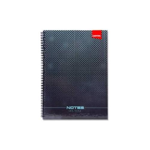 A4 Spiral Hardback Notebook   160 Pages