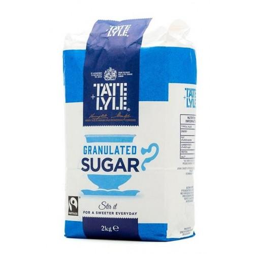 Tate & Lyle Granulated Pure Cane Sugar Bag 2kg Ref 412079