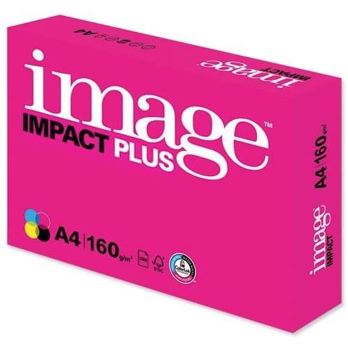 Image Impact Plus Paper Premium FSC 160gsm A4 White Ref 62704
