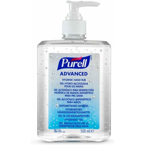 PURELL® Advanced Hygienic Hand Rub (1 x 500ml bottle)