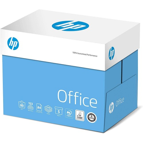 HP Office Paper Multifunction 80gsm A4 White Colorlok FSC (Box of 2,500 Sheets) CHP110