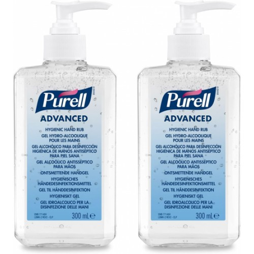 PURELL® Advanced Hygienic Hand Rub (2x 300ml bottle)