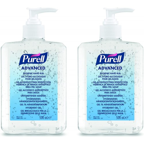 PURELL® Advanced Hygienic Hand Rub (2 x 500ml bottle)