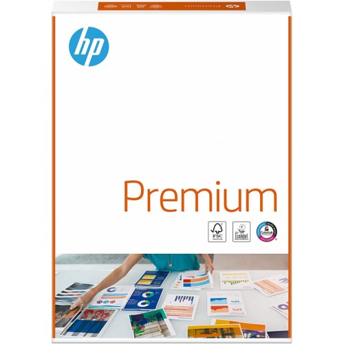 HP Premium Paper Multifunction 100gsm A4 White FSC Colorlok (Ream of 500 Sheets) CHP854