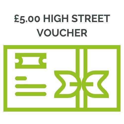 £5.00 shopping voucher