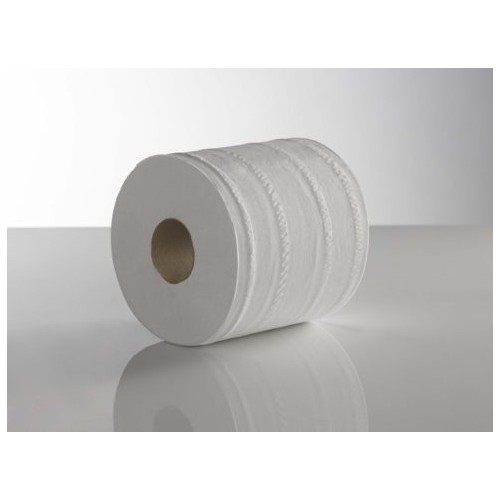 KT Centre Feed White 2ply 180mm x 150M Plain  Pack 6