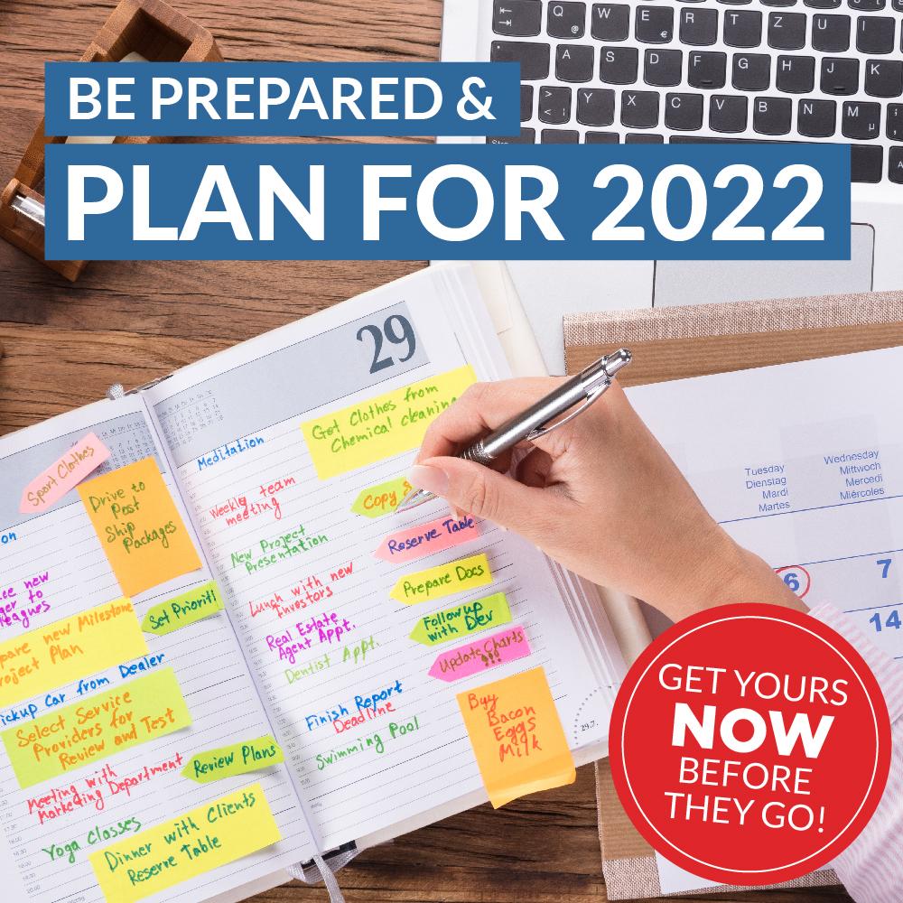2022 Diaries & Calendars