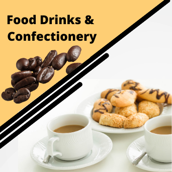 Food drinks and Confectionery