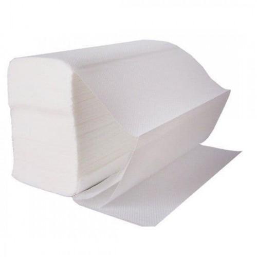 KT White Z-Fold 2 Ply Paper Hand Towel PK3000