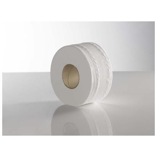 KT  Mini Jumbo Toilet Roll (91mm x 150M)  76mm Core PK12