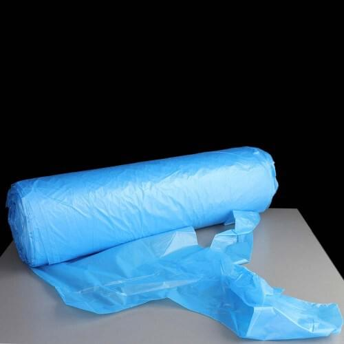 Disposable Blue Aprons for Light Duties (200 / Roll with Dispenser)