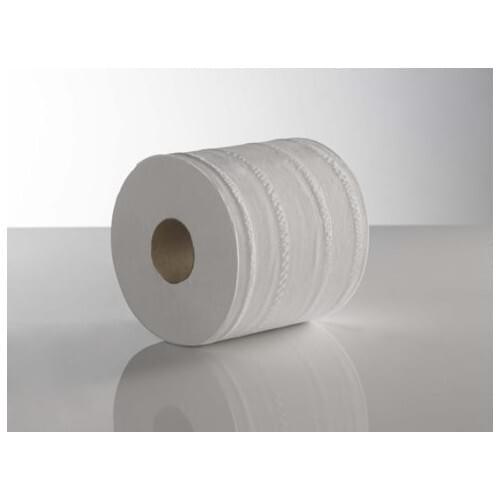 KT Centre Feed White 2ply 180mm x 150M Plain  Pack 6