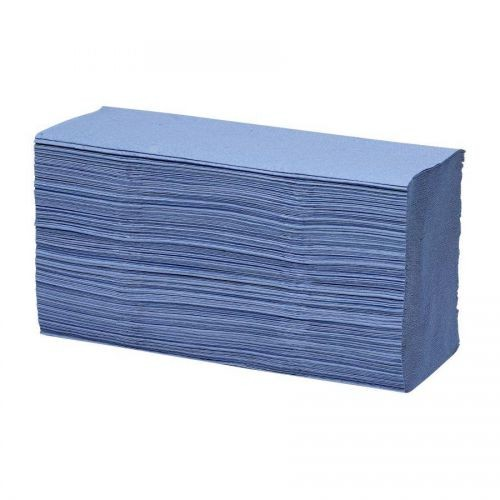 KT Blue Z-Fold Paper Hand Towels 1ply PK3000