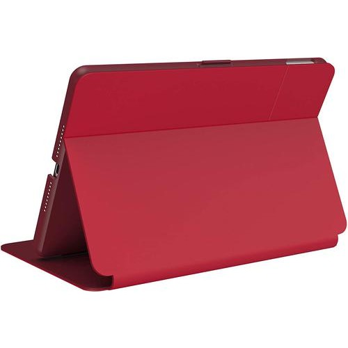 """Speck Balance Folio Bump & Scratch Resistant Poppy Red Tablet Case for Apple iPad 10.2"""" (2019/2020 7th Generation )"""
