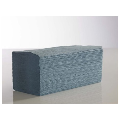KT Interfold Blue 1ply Paper Hand Towels PK3600