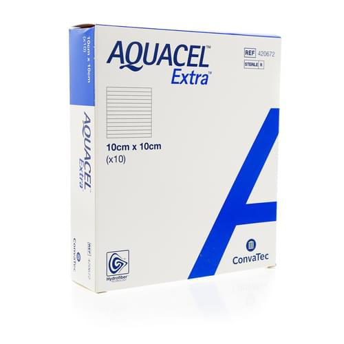 Aquacel Dressing 10cm x 10cm Pack 10