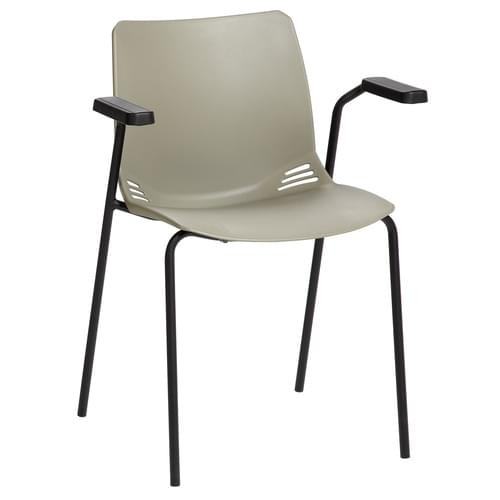 Neptune Visitor Seat, Inc Arms-Grey