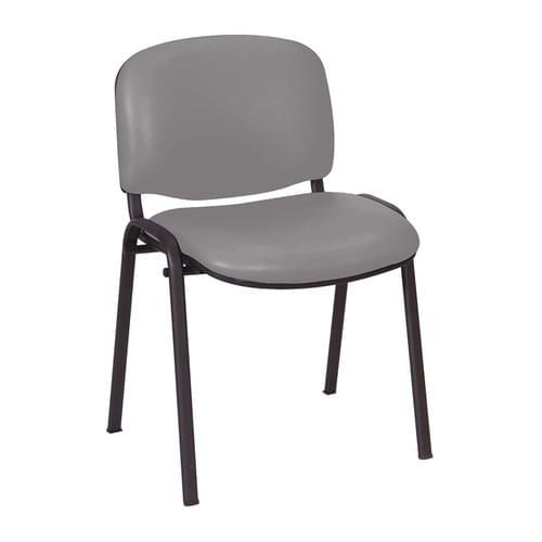 Galaxy Stack Visitor Seat, No Arms Grey