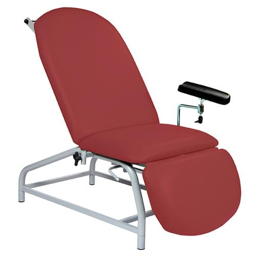 Fxd Height Recl. Phlebotomy Chair R/Wine