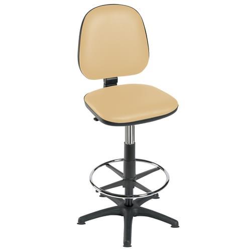 High Level Gas-lift Chair + F/R Beige
