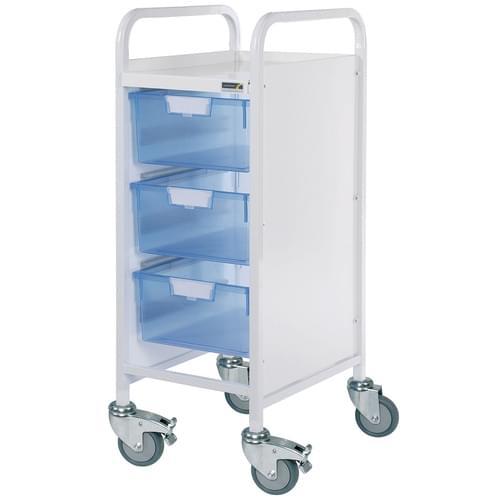 VISTA 30 Trolley, 3 Double Blue Trays