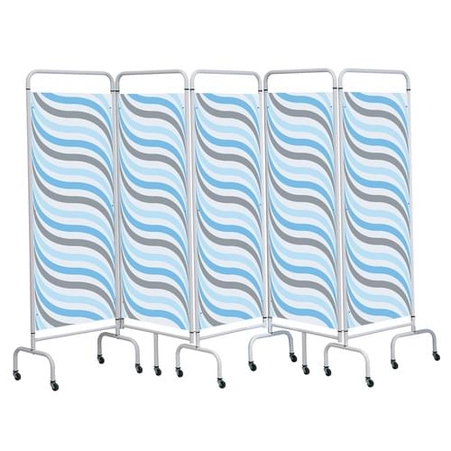 Five Panel Screen - Wave