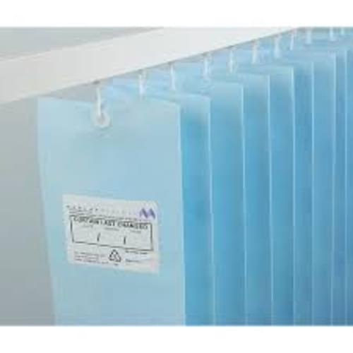 7.2m UNIV ANTI-BAC Curtain - Pastel Blue